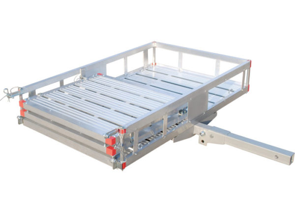 "49""L X 29""W Platform with Bi Fold Bifold Loading Ramp"