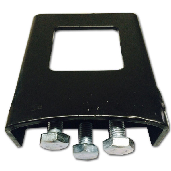 """Anti Wobble Tilt Hitch Bracket Stabilizer Sleeve Clamp for 2"""" Tow Hitch Receiver"""