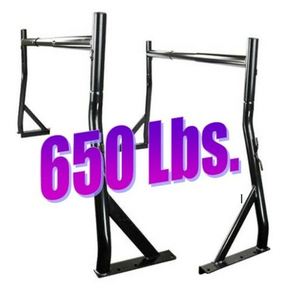 650 lb Truck Pickup Universal Adjustable Ladder Rack