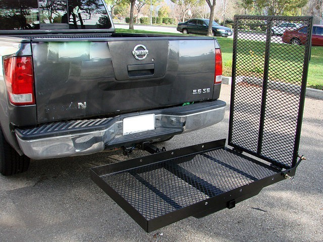 Wheelchair Foldable Hitch Carrier Lift
