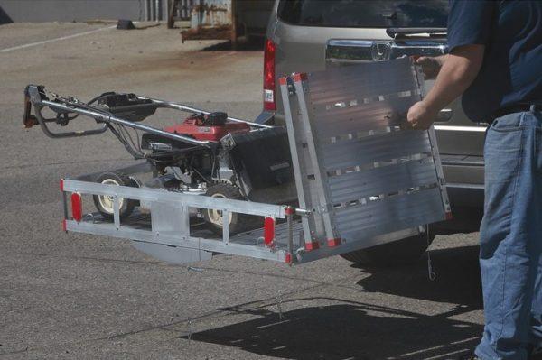 Easy to Use Bi-Fold Loading Ramp