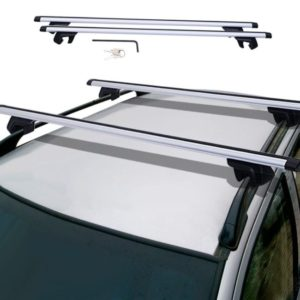 Crossbars for Roof Rack Top Luggage Cross Bars Clamp Set With Lock Car Van Suv