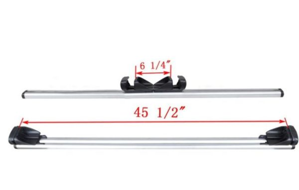 Crossbars for Roof Rack Top Luggage Cross Bars Set With Lock Car Van Suv Dimensions