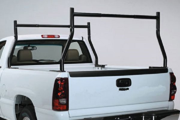 500 lb 2 Pc Set Universal Fit Boltless Pickup Truck Ladder Rack No Drill Drilling Required Example