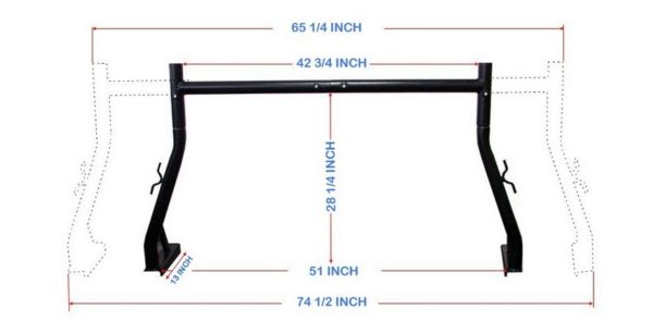 500 lb 2 Pc Set Width and Height Dimensions