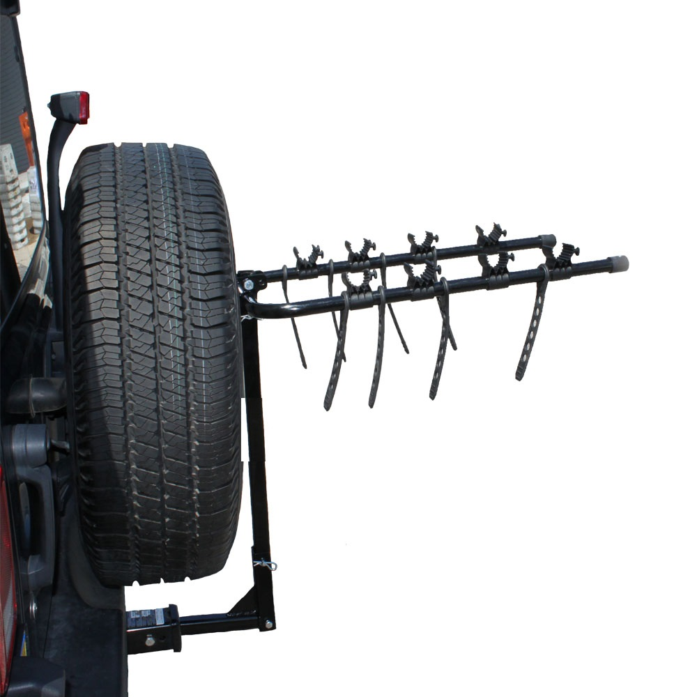 4 Bike Bicycle Hitch Rack For 2 Quot Or 1 1 4 Quot Tow Hitch