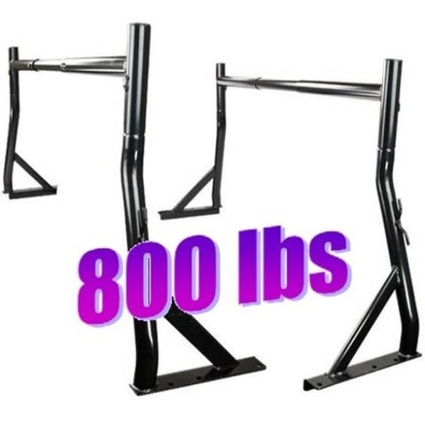 800 lb 2 Set Truck Pickup Universal Adjustable Ladder Rack