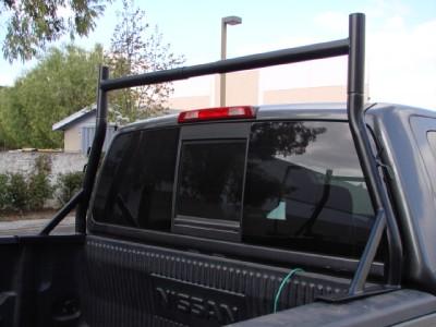 Truck Pickup Universal Adjustable Ladder Rack Front Set