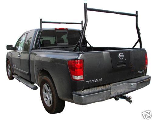 Truck Pickup Universal Adjustable Ladder Rack Set Full View