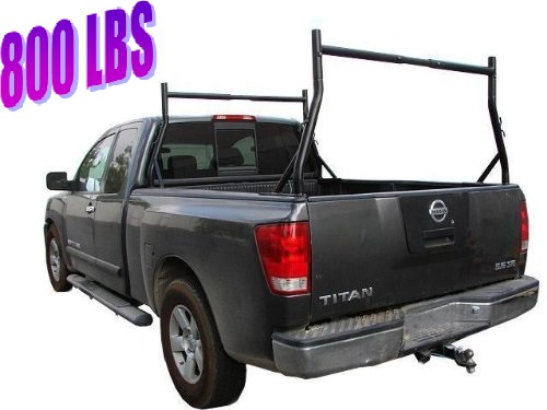 800 lb Truck Pickup Universal Adjustable Ladder Rack Weight Capacity