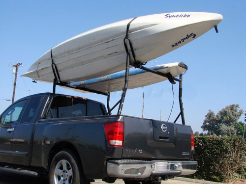 Universal Roof Top Mount Kayak Canoe Carrier for Truck Ladder Rack