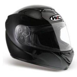 New Glossy Black Full Face Helmet