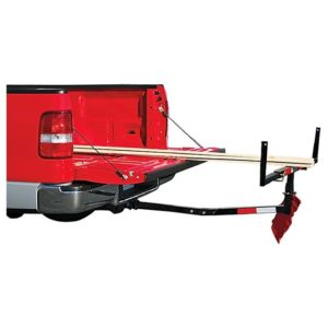Truck Bed Tow Hitch Mount Extender for Ladder, Lumber, Canoe, Kayak, Plywood, and Long Pipes