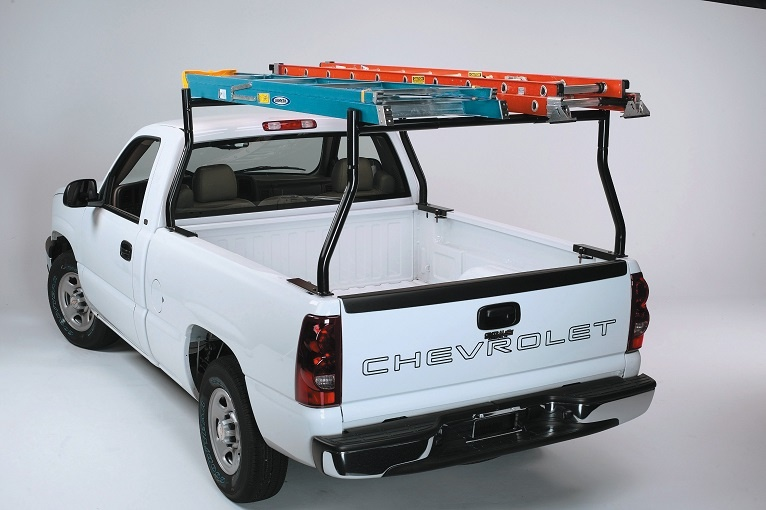 2 Pc Set Universal Fit Boltless Truck Pickup Lumbe Kayak Ladder Rack No Drill Drilling Required Full View