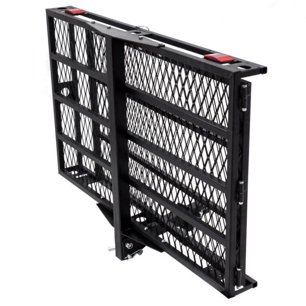 Folding Tilt Up Mobility Scooter Carrier Lift for Parking or Storage