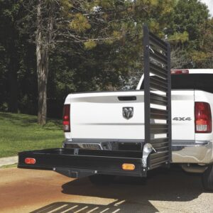"XL 60"" X 30"" Wheelchair Mobility Scooter Folding Tow Hitch Carrier Rack Ramp"