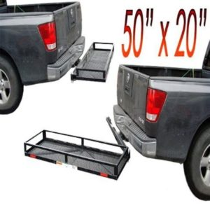 600 Lb Swing Away Stowaway Tow Hitch Carrier Rack Basket Box