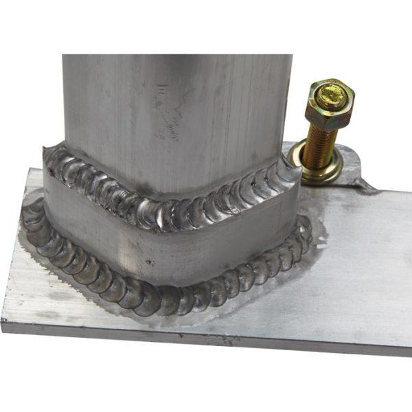 800LB 2 Pc Set Aluminum Truck Rack No Drilling Required