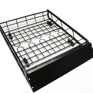 "50""x39"" Aluminum Car Roof Top Cargo Rack Basket for Luggage, Camping, Travel, or Vacation"