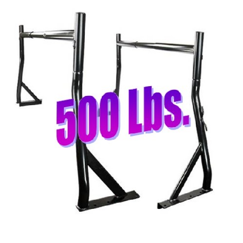 500LB Adjustable 2 Pc Set Truck Ladder Kayak Rack