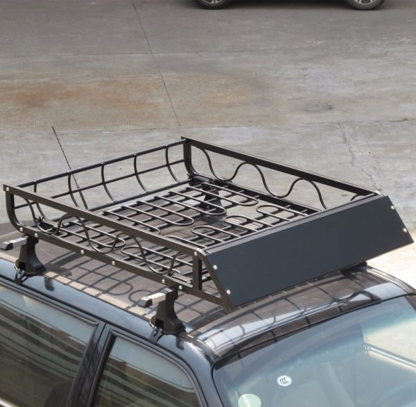 CAR-SUV-VAN-ROOF-TOP-CARGO-BASKET-HAULER