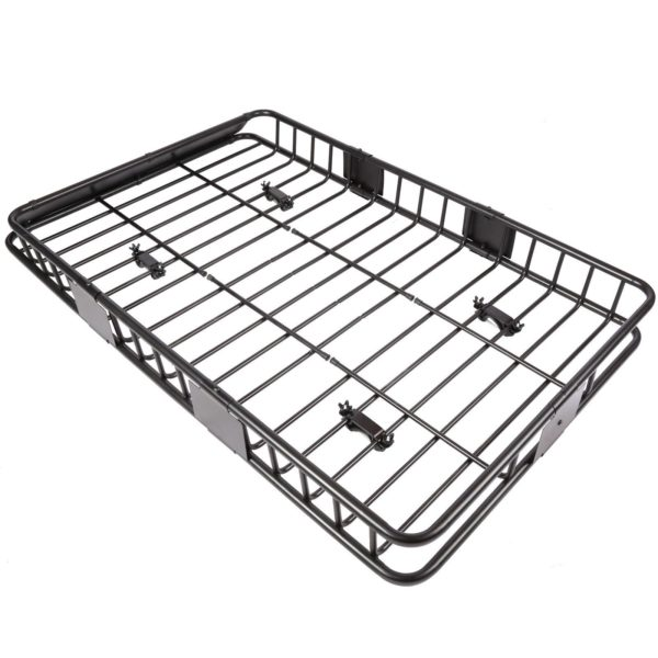 Super Huge Roof Basket and Perfect for Travel, Camping, and Luggage