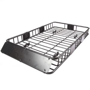 "XL 64"" x 39"" Roof Top Luggage Car Carrier Cargo Basket 3"