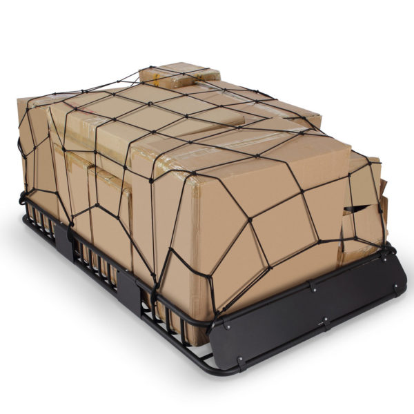 """XL 64"""" x 39"""" Roof Top Luggage Car Carrier Cargo Basket 6"""