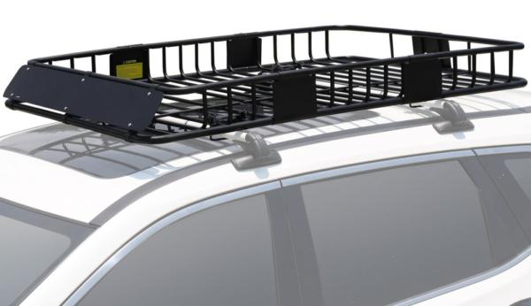 "XL 64"" x 39"" Roof Top Luggage Car Carrier Cargo Basket Mounted Crossbar"