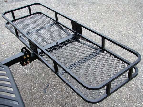 60x20 Tow Hitch Cargo Carrier Rack Basket Hauler 5