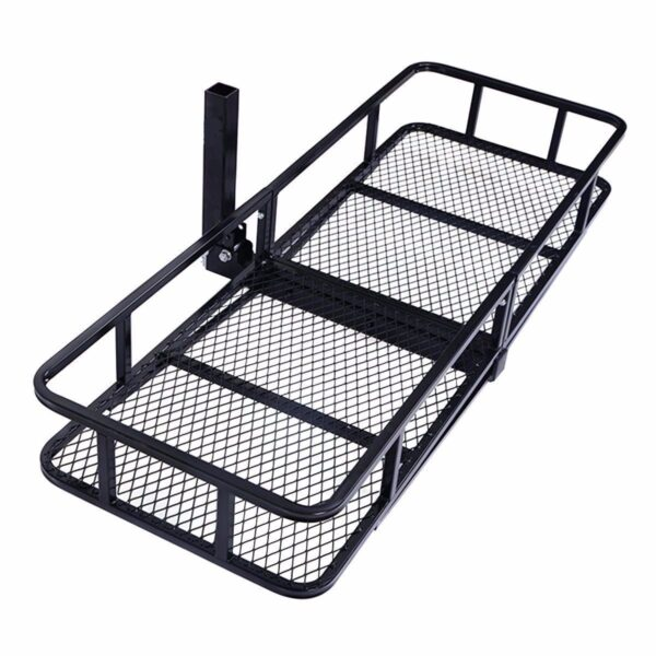 Tow Hitch Basket with Folding Adapter