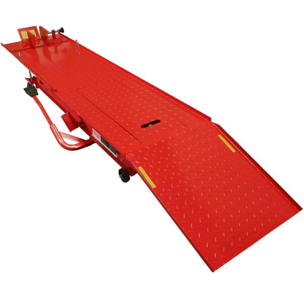 Ideal Air/Hydraulic Motorcycle Lift Table