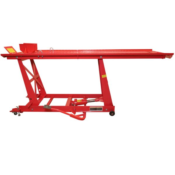 Motorcycle Hydraulic Lift Table Repair Shop