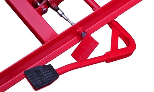 1000 MAX MOTORCYCLE LIFT TABLE WITH WHEEL CHOCK