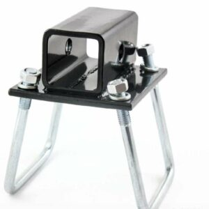 RV Square Bumper Hitch Receiver Adapter Mount