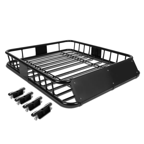 "Roof Top Luggage Cargo Carrier Basket 48"" Inches x 40"" Inches"