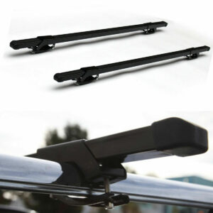 Universal roof top luggage cross bars clamp on