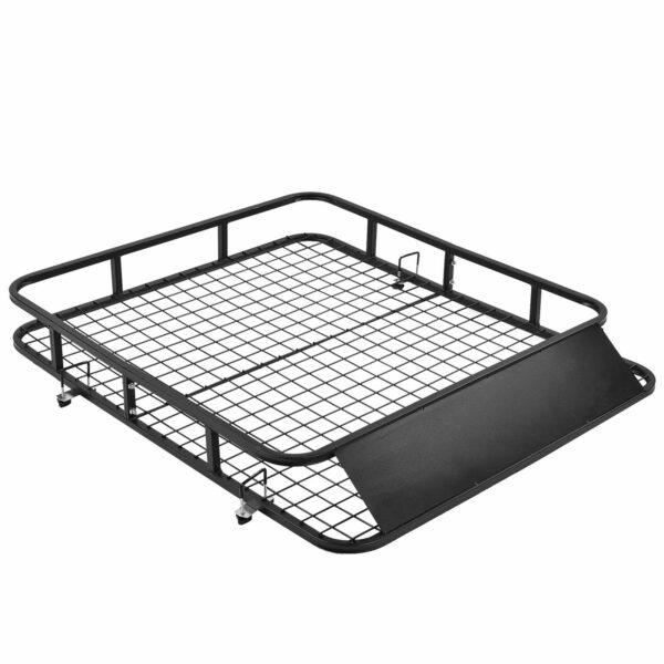 Universal Roof Rack Basket Car Top Luggage Carrier Cargo Holder Travel 2