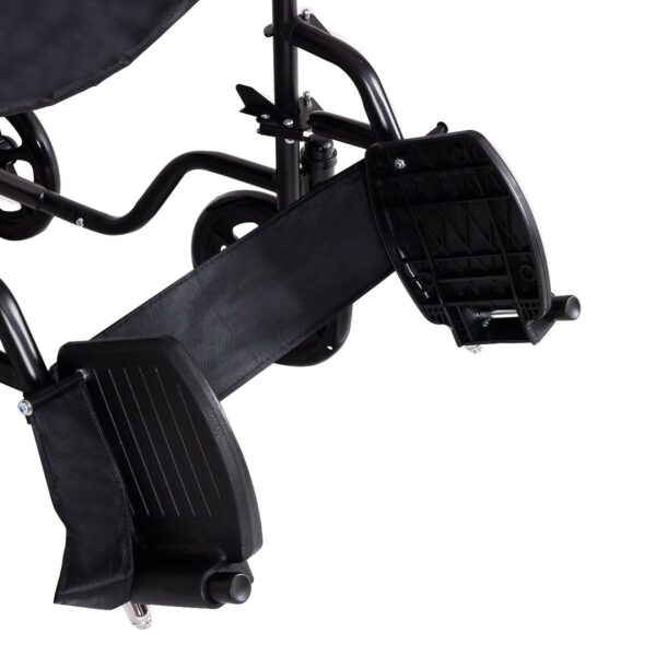 FDA Approved Lightweight Foldable Medical Wheelchair w/ Hand Brakes 8