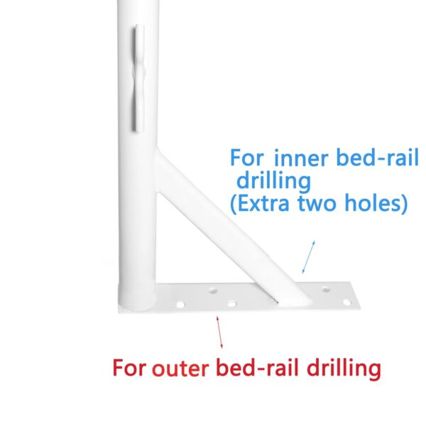 Outer and Innder Bed Drilling Holes