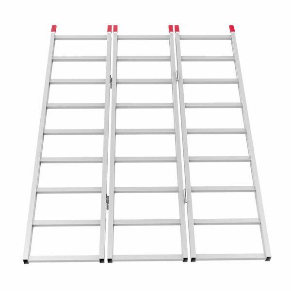 "Aluminum Loading Ramp 69"" Inches x 45"" Inches Extended"