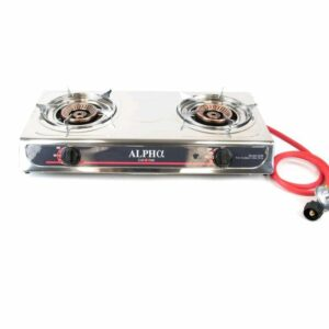 Portable Double Propane Gas Burner Stove for Camping