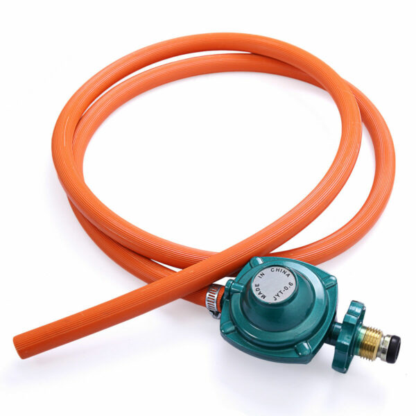 Electric Igniter Portable Propane Gas Stove Single Burner Hose and Regulator