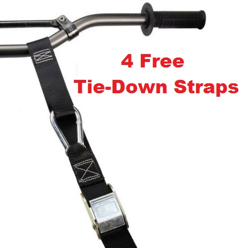 4 Sets Free Tie Down Straps
