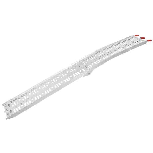 Single 7.5' Ft Aluminum Arched Folding Loading Ramp
