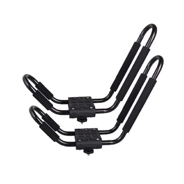 Universal Roof Top Mount Kayak Canoe Carrier Rack Holder with Foam