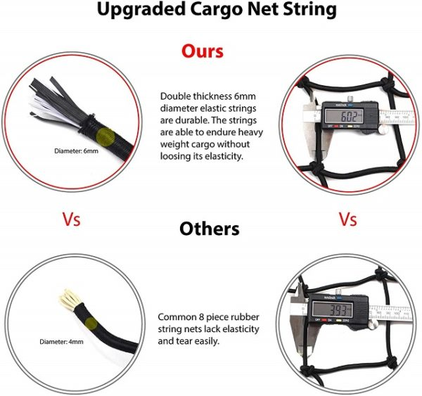 Elastic Cargo Net String Strength Ours Vs Others