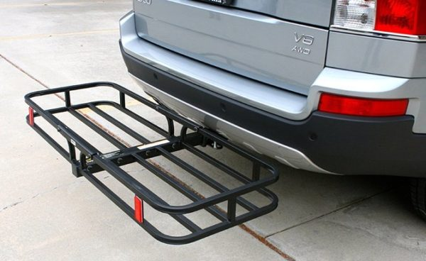Stick On Reflectors for Motorcycle Racks, Scooter Carriers, and Cargo Haulers