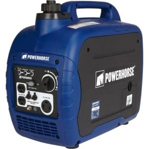 Super Quiet Portable Gasoline Inverter Generator - 2000 Surge Watts -1600 Rated Watts, CARB Compliant