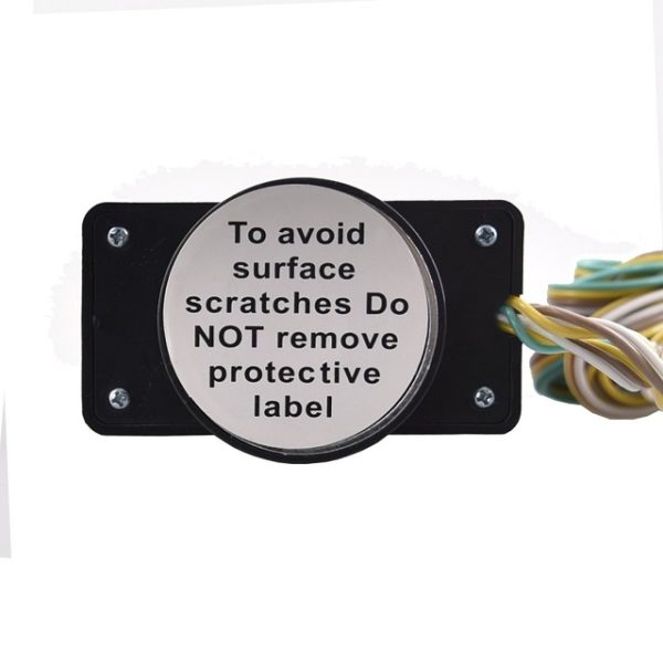 Tow Lights Magnet Will Not Scratch Surface